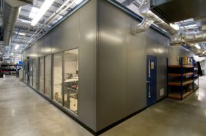 Double Skin Steel Partition