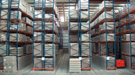 Very Narrow Aisle Racking VNA