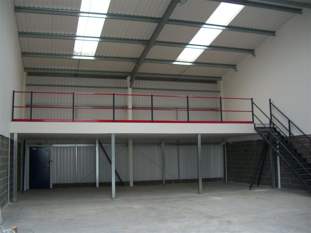 Mezzanine floors create an immediate rate free increase in floor space