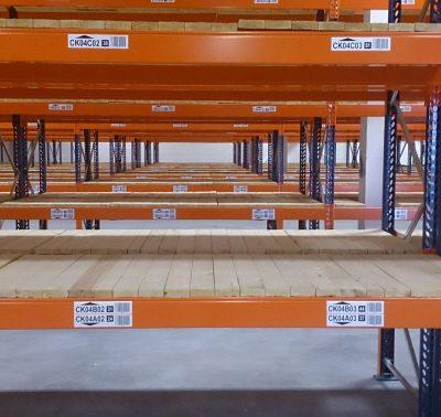 Inside Pallet Racking